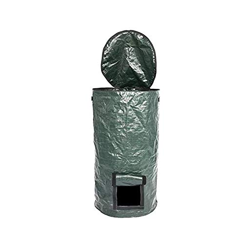 Great Deal! nologo Large Capacity Compost Bag, Conductive to Rot Fast Garden Compost Bins, Kitchen W...