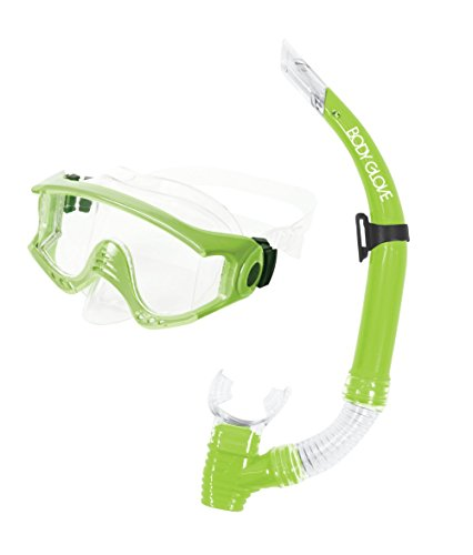 Body Glove Halo Mask & Snorkel Combo-Medium-T/Lime