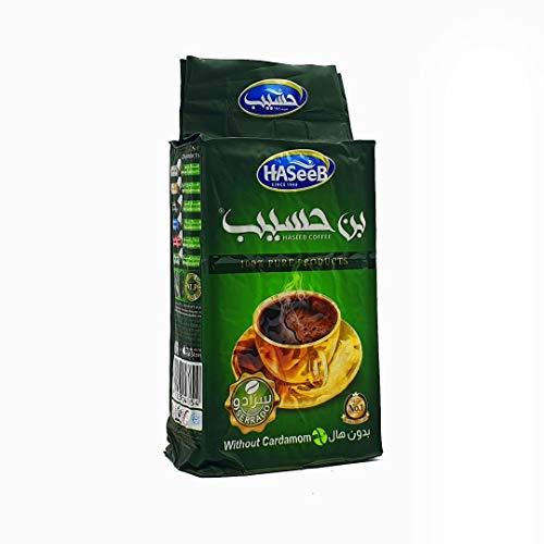 Haseeb Arabische Kaffee Grün (ohne Kardamom) 500g