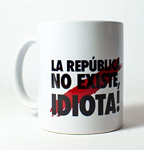 Taza - La republica no existe - Bandera de España