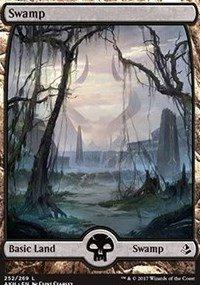 Wizards of the Coast Swamp (Full Art) - Foil - Amonkhet
