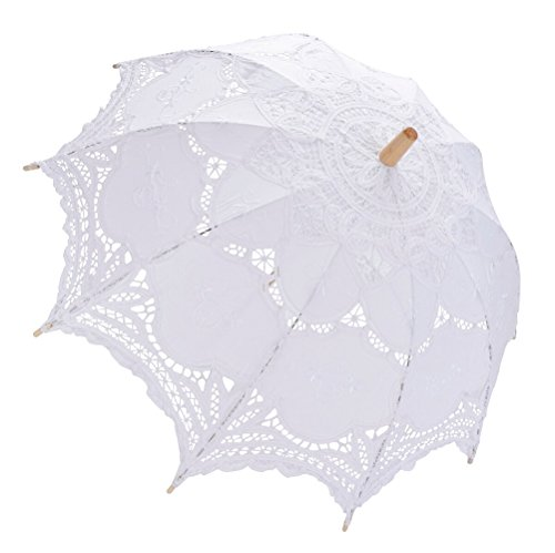 Parasol kant, fascigirl kant paraplu paraplu voor bruid bruidsmeisjes bruiloft fotografie prop