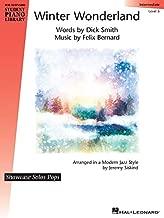 Winter Wonderland: Hal Leonard Student Piano Library Showcase Solos Pops Intermediate Level 5