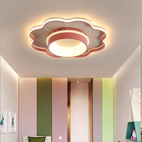 LED Plafondlamp Met Afstandsbediening Dimbare Plafondlamp Creative Acryl Lampen Voor Eetkamer Slaapkamer Badkamer Keuken Plafond Verlichting,Dimmable,50cm/38W