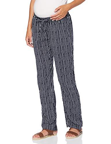 Noppies Pants Utb AOP Caitlin Pantalones premamá, Multicolor (Night Sky P277), 42 (Talla del Fabricante: Large) para Mujer
