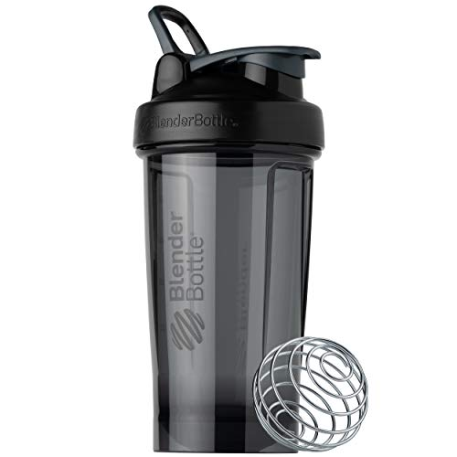 BlenderBottle Shaker Bottle Pro Series Perfect for Protein Shakes and