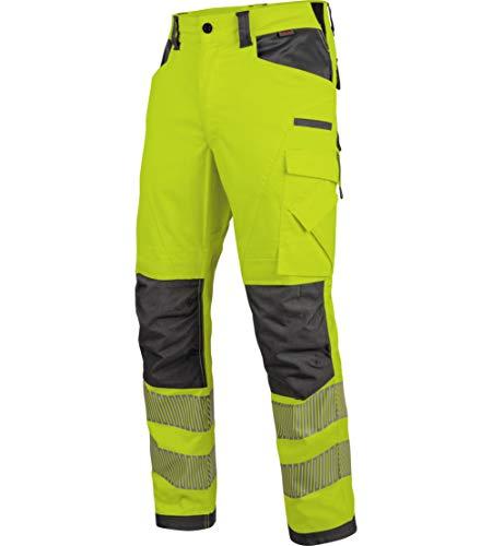 WÜRTH MODYF Warnschutz Winter Bundhose Neon EN 20471 2 gelb anthrazit: Die zertifizierte Winter Arbeitshose aus der German Design Award Winner Kollektion 2019.