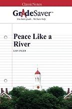 GradeSaver (TM) ClassicNotes: Peace Like a River