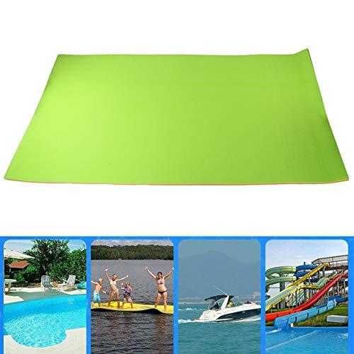 Flotador de piscina inflable, cama flotante de algodón para piscina...