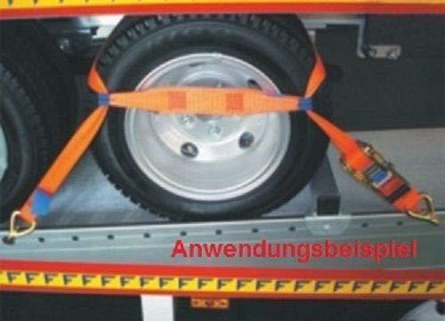 4 Stück Spanngurt Zurrgurt für Pkw Auto Transport zur Radsicherung (3)