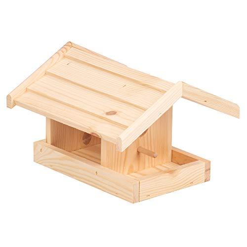 Vogelfutterhaus, Vogelhaus, Vogelhäuschen aus Holz