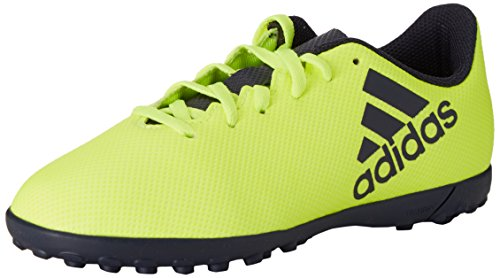 adidas Performance Boys X 17.4 Turf Training Lace Up Soccer Boots 11K US Yellow