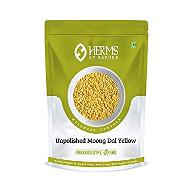 Pure Herms Unpolished Moong Dal Yellow (1kg)