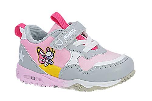PRIMIGI 7448900 Sneakers Scarpe Bambina Rosa Primi Passi LUCI A LED 25/Rosa