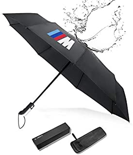 S-WEKA M Line Fully Automatic Auto Sport AUTO Open Large Folding Umbrella Windproof Sunshade for BMW