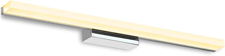 SJMM-Spiegellicht Spiegel, Scheinwerfer, LED-Moderne, Minimalistische Badezimmer, WC, Wasserdicht, Beschlagfreie Badezimmer, Schminktisch, Spiegel Lampe, 0,4 Meter, 7 Watt, Weies Licht