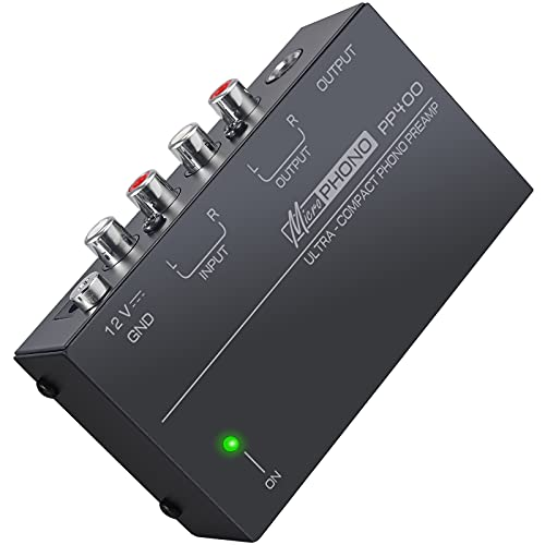LiNKFOR Phono Preamplifier PP400 Phono Preamp Preamplifier with Certified...