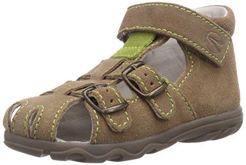 Richter Kinderschuhe Terrino 2106-521, Chaussures Premiers Pas pour bébé (garçon) - Marron - Braun (Sand/Frog 0702), 20 EU
