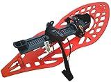 Morpho - Raquetas de Nieve para Adulto Rojo, Gris Talla:Medium