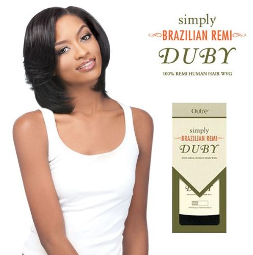 Outre Simply Brazilian Remy Duby 100% Remi Human Hair WVG 8""