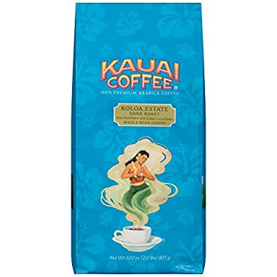 Kauai Whole Bean Coffee, Koloa Estate Medium Roast