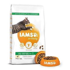 IAMS Adult trockenfutter con Mucho Gallina (para Adultos Gatos, Llena tierisches proteína), Diferentes tamaños 3