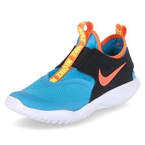Nike Kids Flex Runner (Niño pequeño) (Laser Azul/Hyper Crimson/Negro, Numeric_2_Point_5)