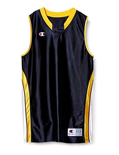[チャンピオン] タンクトップ 速乾 ワンポイントロゴ ゲームシャツ バスケットボール GAME CBR2204 メンズ ネービー M