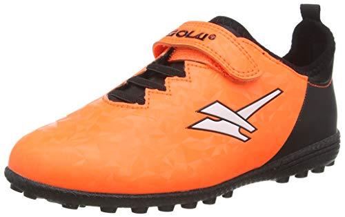 Gola Jungen Gola Alpha Vx Velcro Fußballschuhe, Orange (Orange/Black Ub), 31 EU