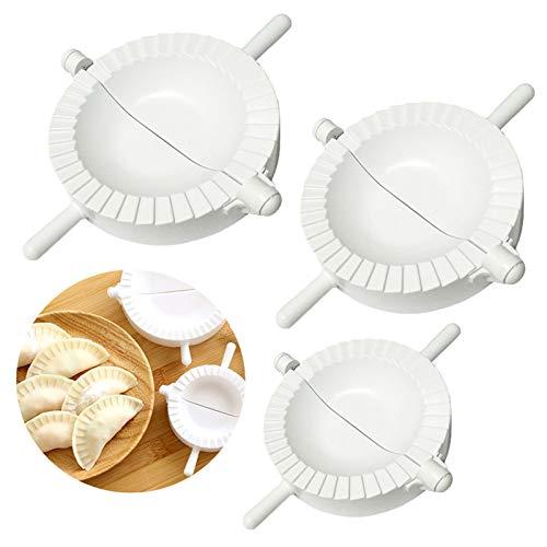 Ravioli Dumplings Maker 3 Pièces Set - Presse à Pâte et Moule à Boulette Outil pour la Cuisson - Pie Tarte Pression Outil Accessoires de Cuisine #15