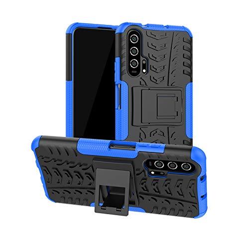betterfon | Huawei Nova 5T Hülle Outdoor Handy Tasche Hybrid Hülle Schutzhülle für Huawei Nova 5T / Honor 20 Blau