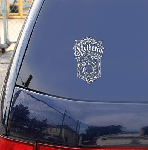 Harry Potter Wandtattoo Wandaufkleber Wandbild Harry Potter Hogwarts Slytherin College Abzeichen Poster Aufkleber Wohnzimmer Schlafzimmer Dekoration