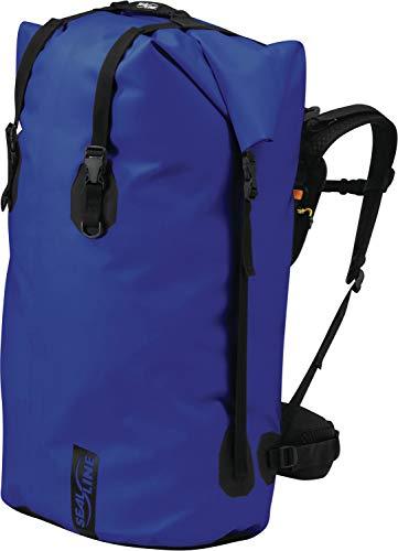 SealLine Black Canyon Wasserdichter Rucksack, Unisex, wasserdichter Rucksack, 040818109144, blau, 115-Liter