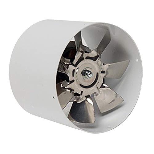 CFSNCM Potente ventilador silencioso de 4 pulgadas, ventilador de conducto en línea, ventilador de escape, refrigeración por aire, baño, cocina, ventilación, ventilador de Metal 220 V
