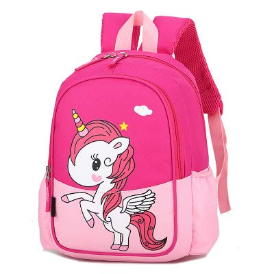 Kids Unicorn Backpack,JPYH Children's Backpacks Unicorn School backpackBag Girls School Backpacks Large-Capacity School Bag for Kids Teen Toddler Fashion Daypack Rucksack Travel Bag
