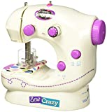 Shimmer & Sparkle Sew Crazy Sewing Machine w/Magic Sequin Headband New Playset