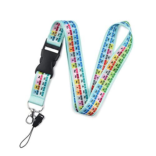 Cordones Llavero Estampado colorido Correas para el cuello Llavero Cuerda para teléfono celular Regalo para maestros, 2, China
