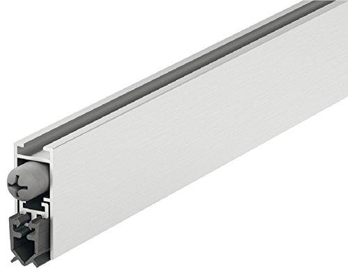 Gedotec Türbodendichtung automatisch Zimmer-Türdichtung Absenkdichtung STAR-SEAL Zugluftstopper kürzbar | Länge 830 mm | Universal-Dichtung für schall-hemmende Türen | 1 Set - Dichtprofil Automatik