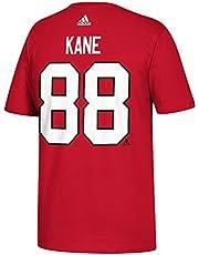 Patrick Kane Chicago Blackhawks Adidas NHL Red Player T-shirt voor heren