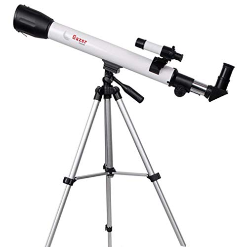 Great Deal! GGPUS Refractor Telescope with Tripod & Finder Scope, Portable Telescope for Kids & Astr...