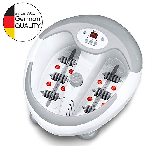 Beurer FB50 foot spa with heater | Foot massager with infrared light and magnetic therapy | 3...