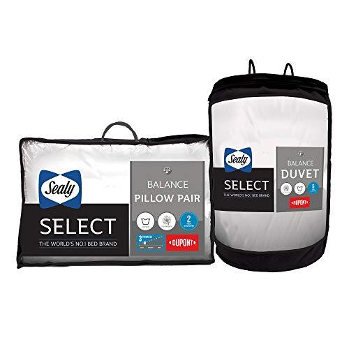 Sealy Select Balance Duvet 10.5 Tog & Pillow Pair - King