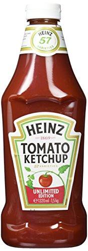 Heinz Tomato Ketchup, Squeezeflasche, 6er Pack (6 x 1320 ml)