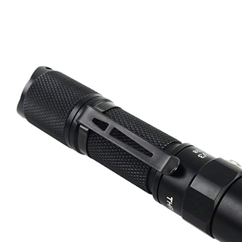 『ThruNite Archer 1A V3 懐中電灯 LED フラッシュライト ハンディライト小型 CREE XP-L V6搭載 明るさ最大200 ルーメン/最大照射距離66メートル/最大光度1088cd 4段階明るさ切替+ストロボモード IPX-8防水 単3アルカリ乾電池×1本使用 1AV3 CW』の3枚目の画像