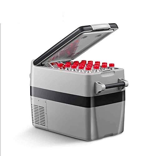 Faible Consommation d'énergie draagbare koelkast (40 liter) mini-koelkast voor het rijden, reizen, vissen, buitenshuis en voor thuisgebruik Gardez la nourriture FraÂche