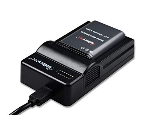 Batterytec® Batería de Repuesto para Nikon EN-EL23 y Kit de Cargador portátil Micro USB, para Nikon S810c Coolpix P900 P900s B700 P600 P610 P610s Cámara. [Garantía de 12 Meses]