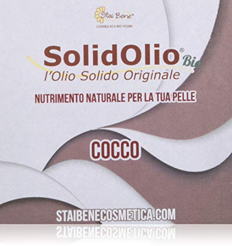 StaiBene Olio Solido Solidolio Cocco - 100 gr