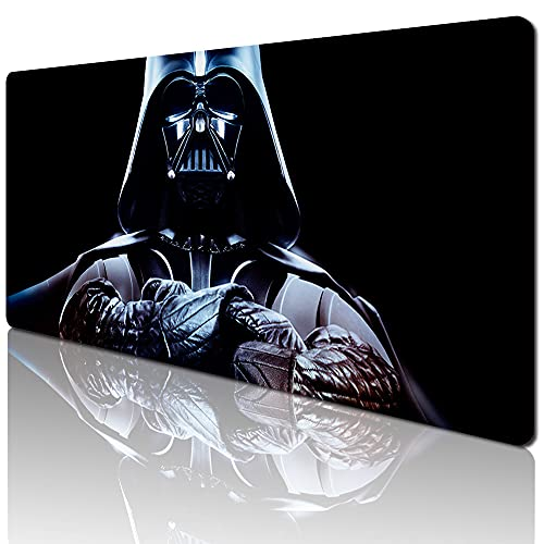 59190 - Star Wars Mouse Pad Fashion Laptop XXL Computer Mouse Pad Gaming Mouse Pad High-Definition Non-Slip Pad Desk Keyboard Play Pad (35.4 x 15.7 inches / 90 x 40cm)