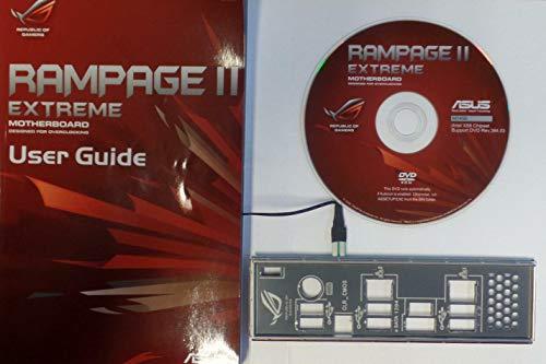 ASUS Rampage II Extreme Handbuch - Blende - Treiber CD