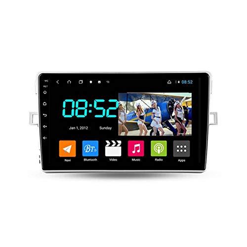 Autoradio Bluetooth, 2 Din Android Radio De Coche 9'' Pantalla Táctil Wifi Plug And Play Completo RCA SWC Soporte Carautoplay/GPS/DAB+/OBDII Para Toyota Verso R20 2009-2018,Octa core,4G Wifi 4G+64G
